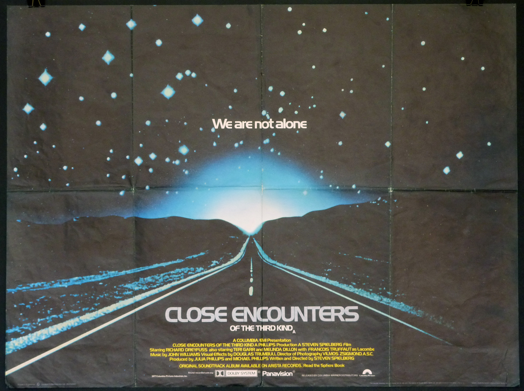 CLOSE ENCOUNTERS OF THE THIRD KIND UK Quad poster | Picture Palace ...
