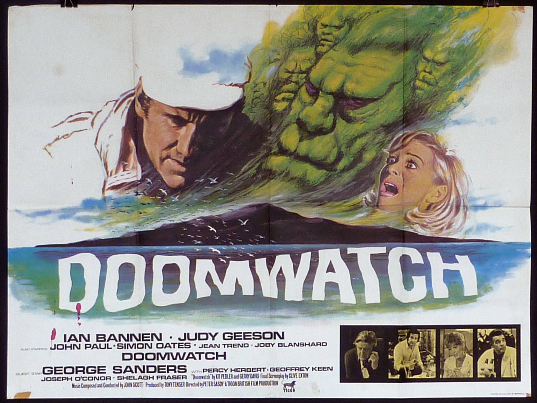 DOOMWATCH UK Quad poster | Picture Palace Movie Posters