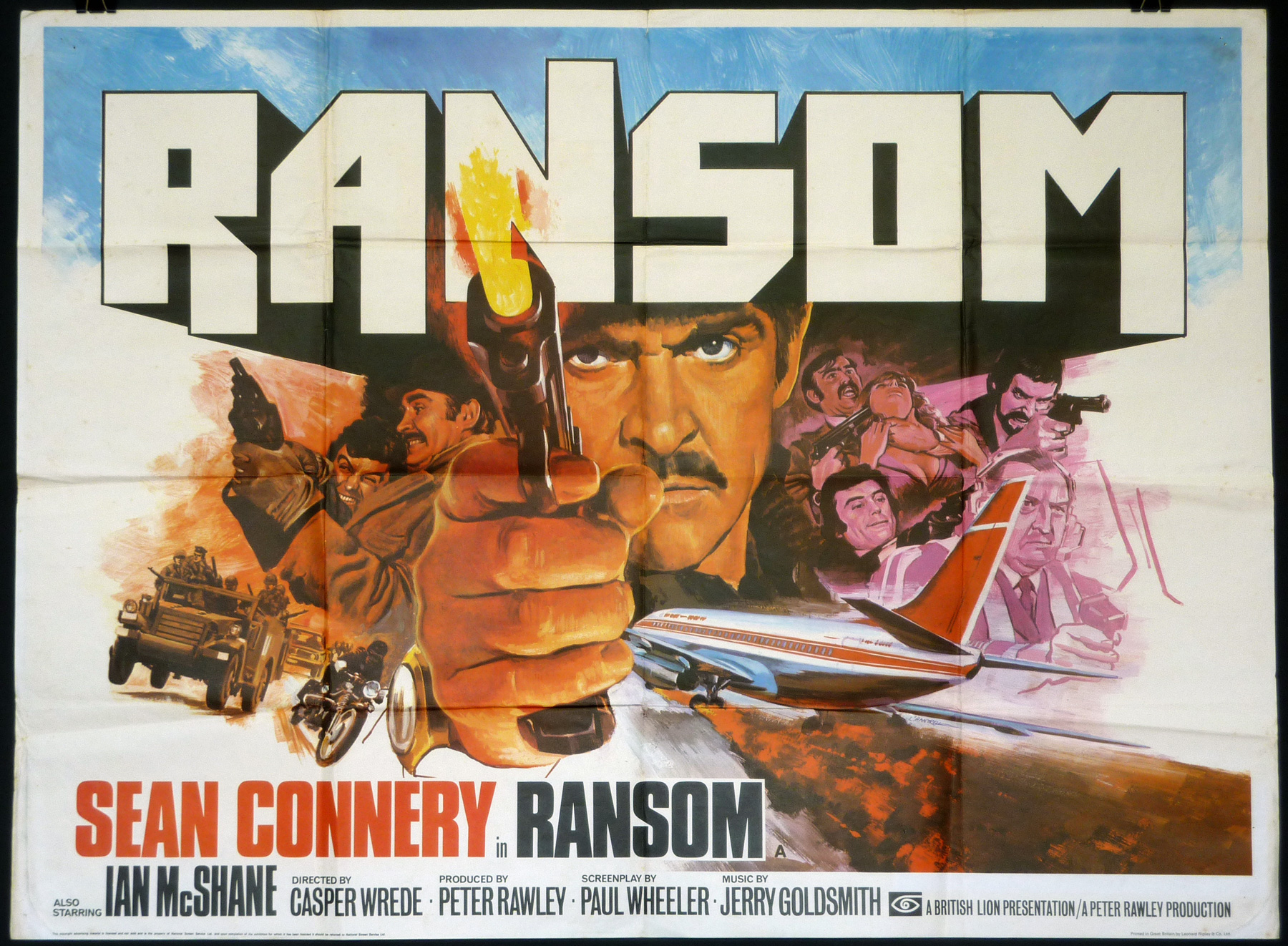 RANSOM UK Quad poster | Picture Palace Movie Posters