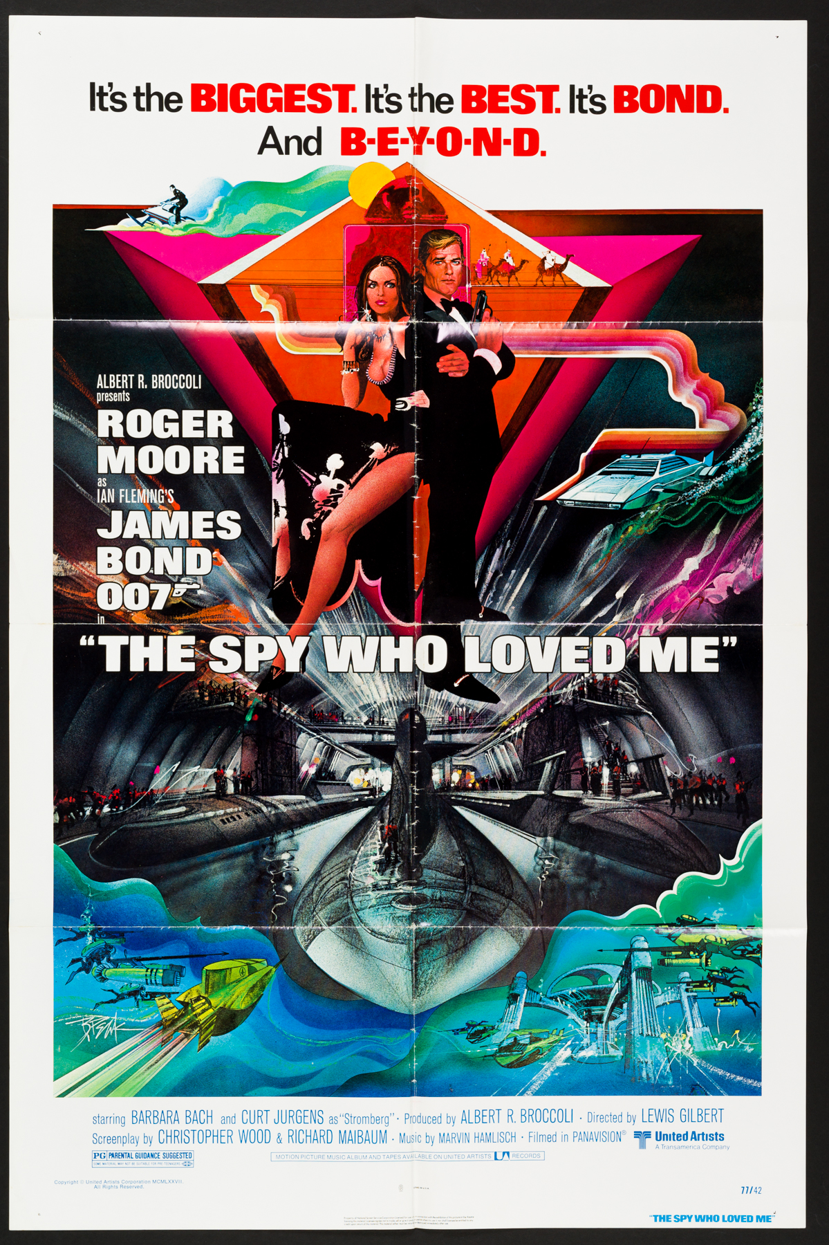 The Spy Who Loved Me Us One Sheet Poster Picture Palace Movie Posters