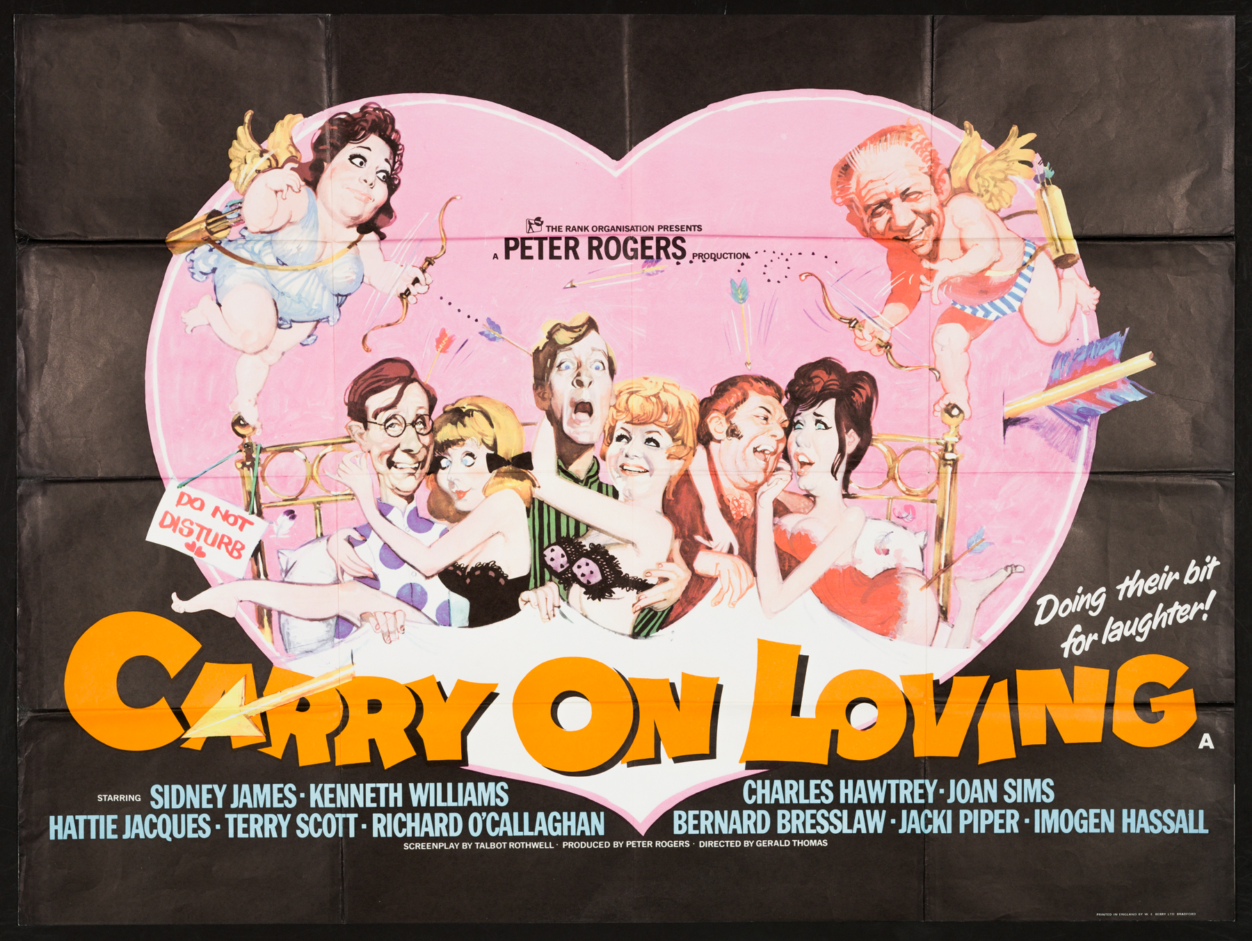 CARRY ON LOVING Original UK Quad poster | Picture Palace Movie Posters