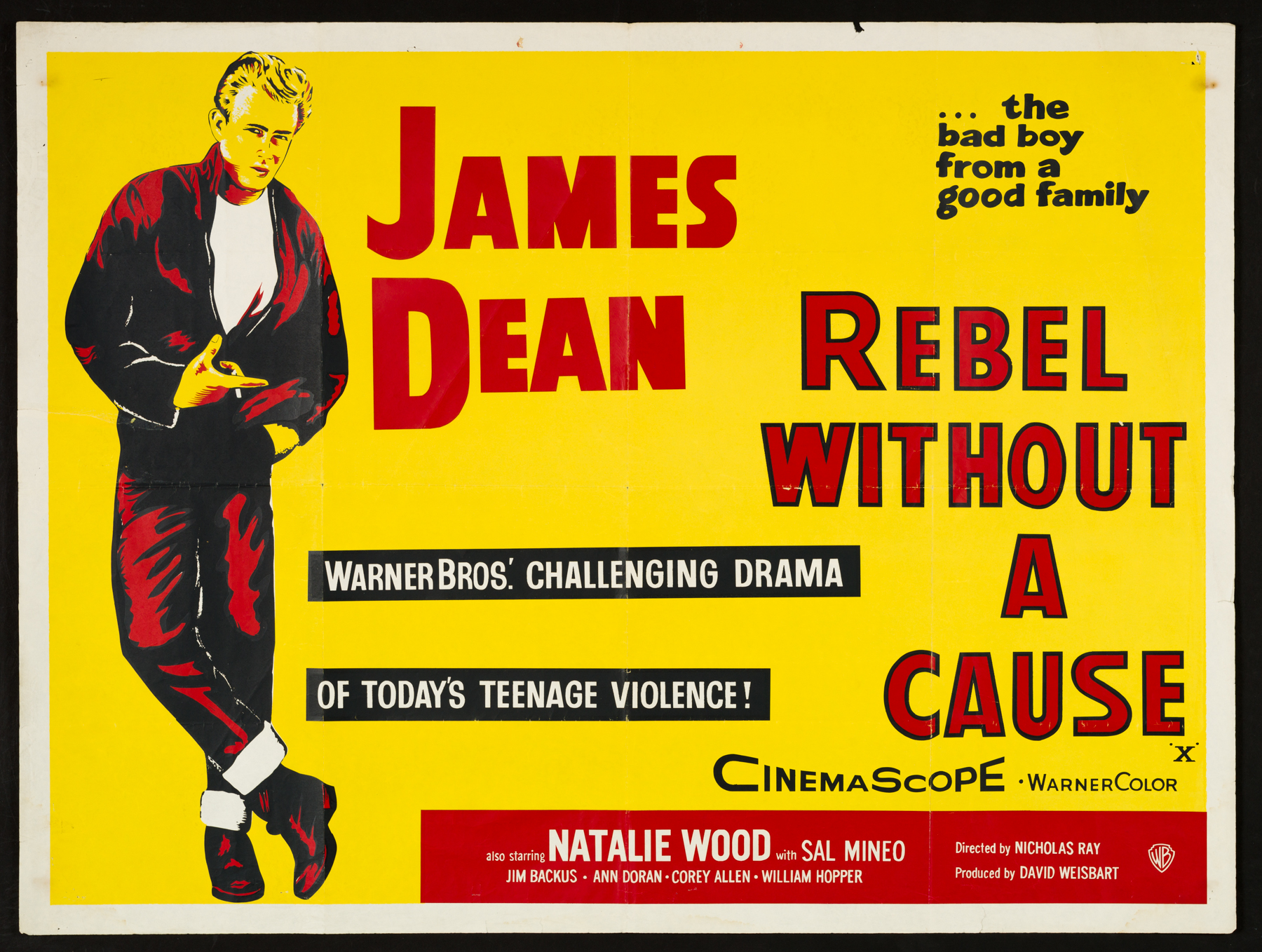 the origin of rebellious actions in rebel without a cause a movie by nicholas ray Rebel without a cause blu-ray screenshots from another edition of rebel without a cause blu-ray story of rebellious middle-class teens nicholas ray starring.