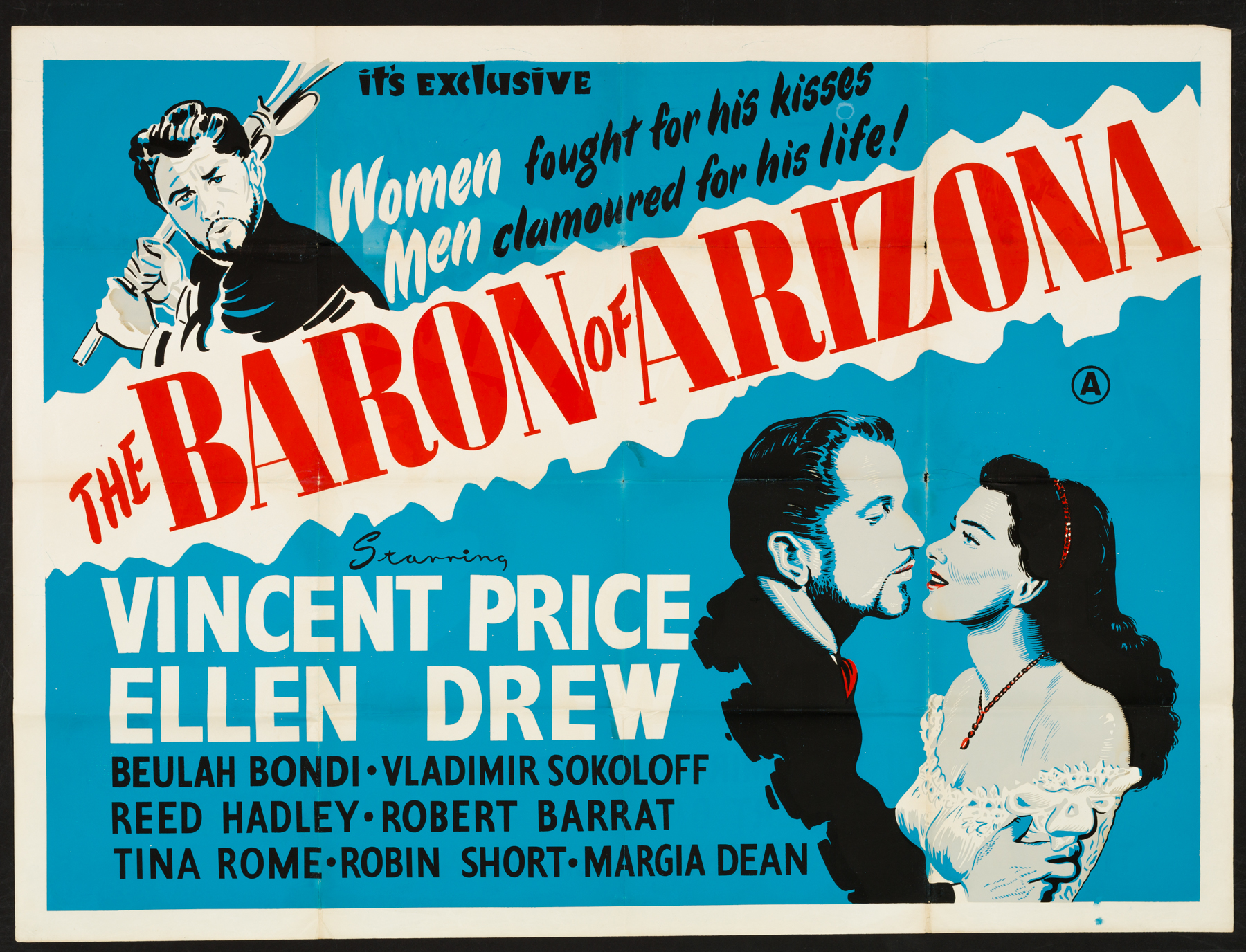 The Baron of Arizona (1950) Biography, Crime, Drama