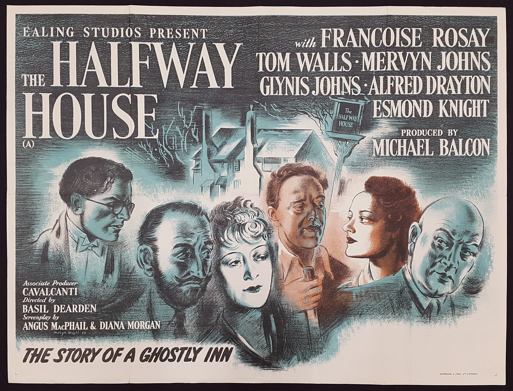 The Halfway House (1944) UK poster