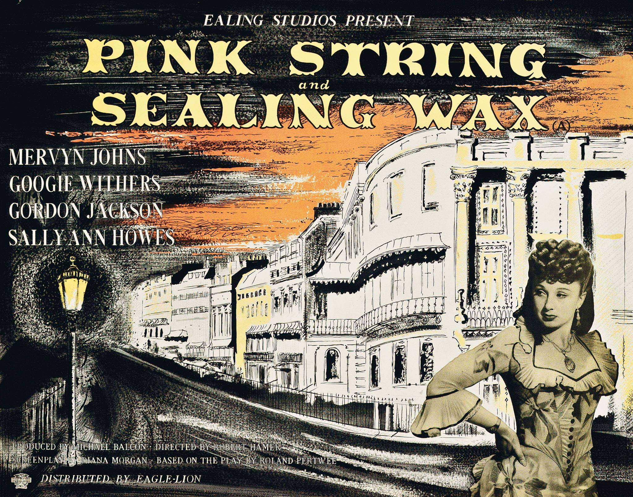PINK STRING AND SEALING WAX (1945) Ealing Classic John Piper ...