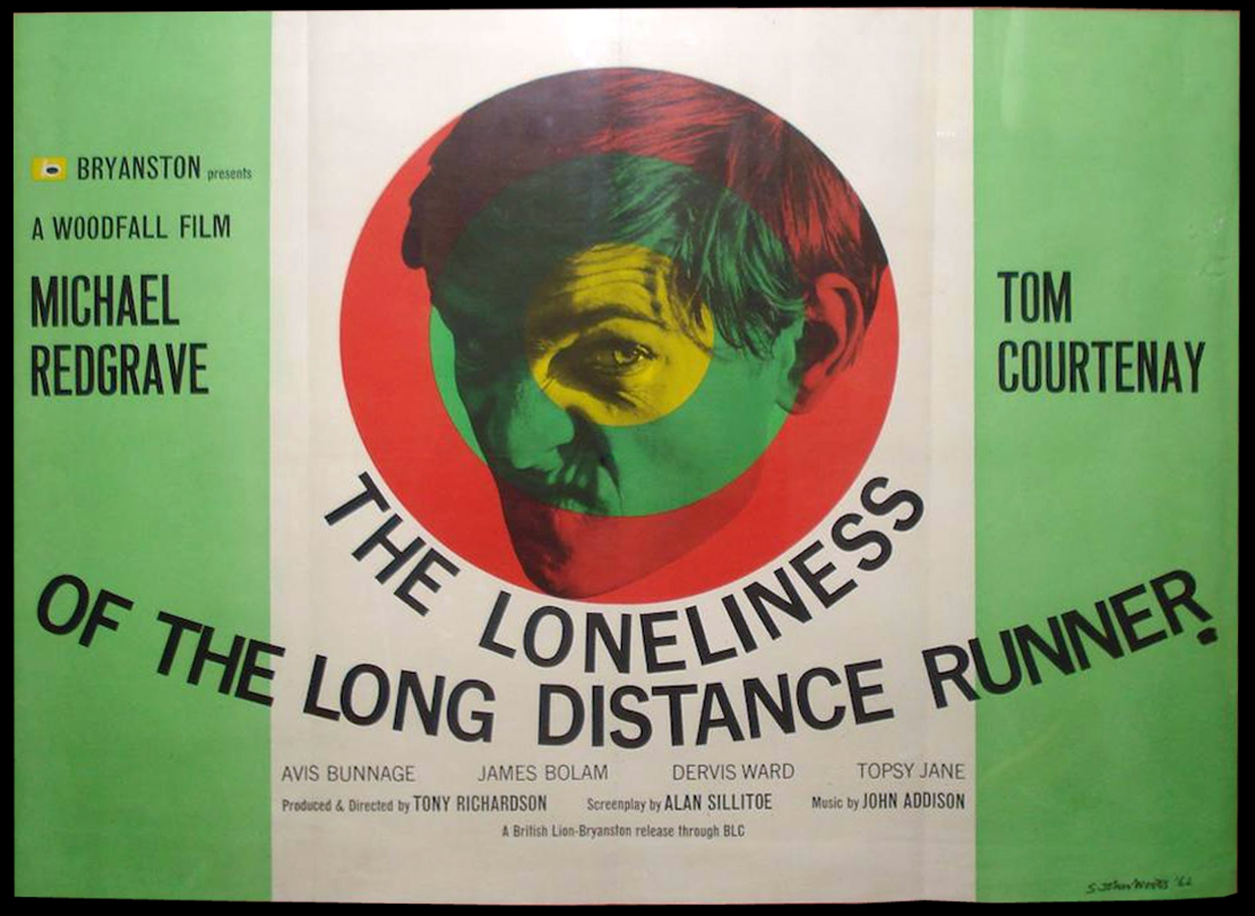 THE LONELINESS OF THE LONG DISTANCE RUNNER (1962) Original ...