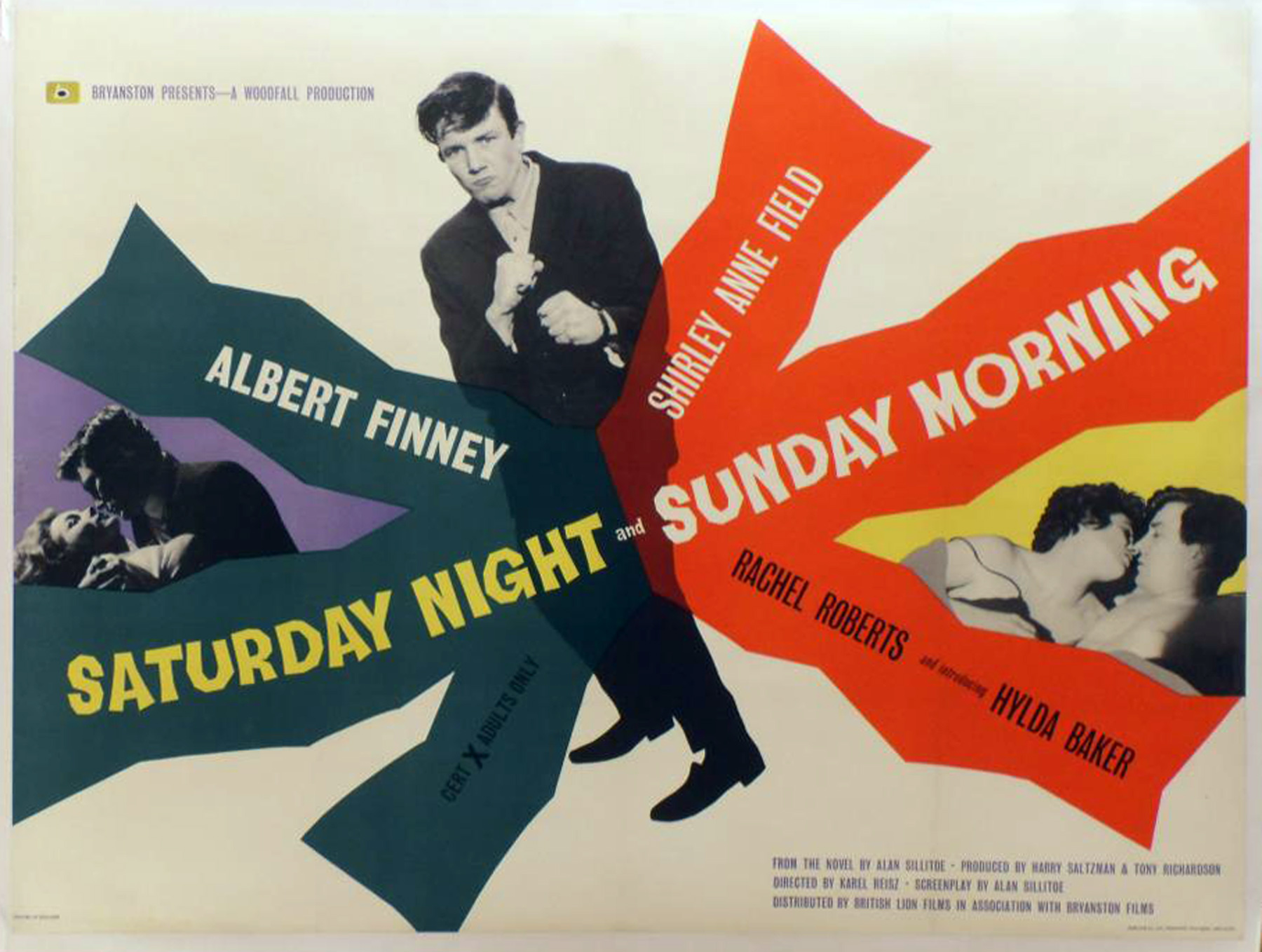 SATURDAY NIGHT AND SUNDAY MORNING (1960) Original Vintage Woodfall ...