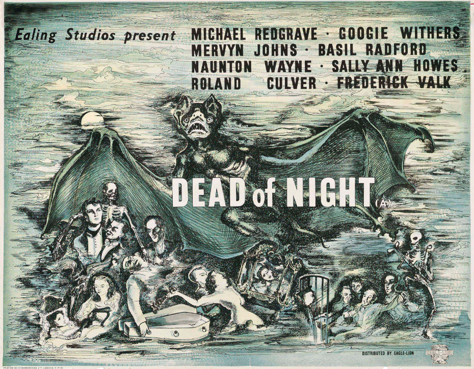 DEAD OF NIGHT (1945) Ealing Films Original Vintage UK Film Movie Poster |  Picture Palace Movie Posters